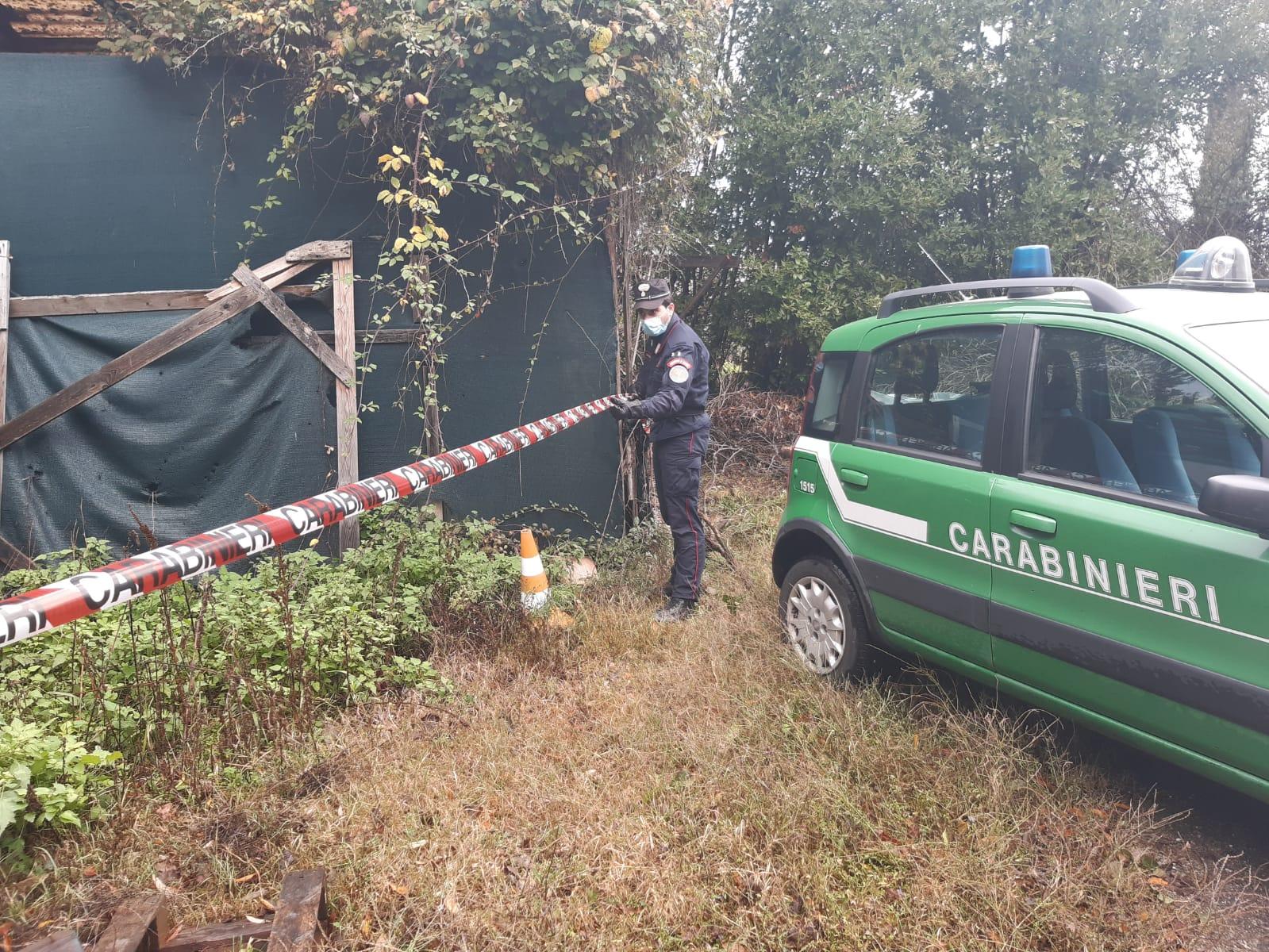 Ambiente, Valdinievole: sequestro Carabinieri