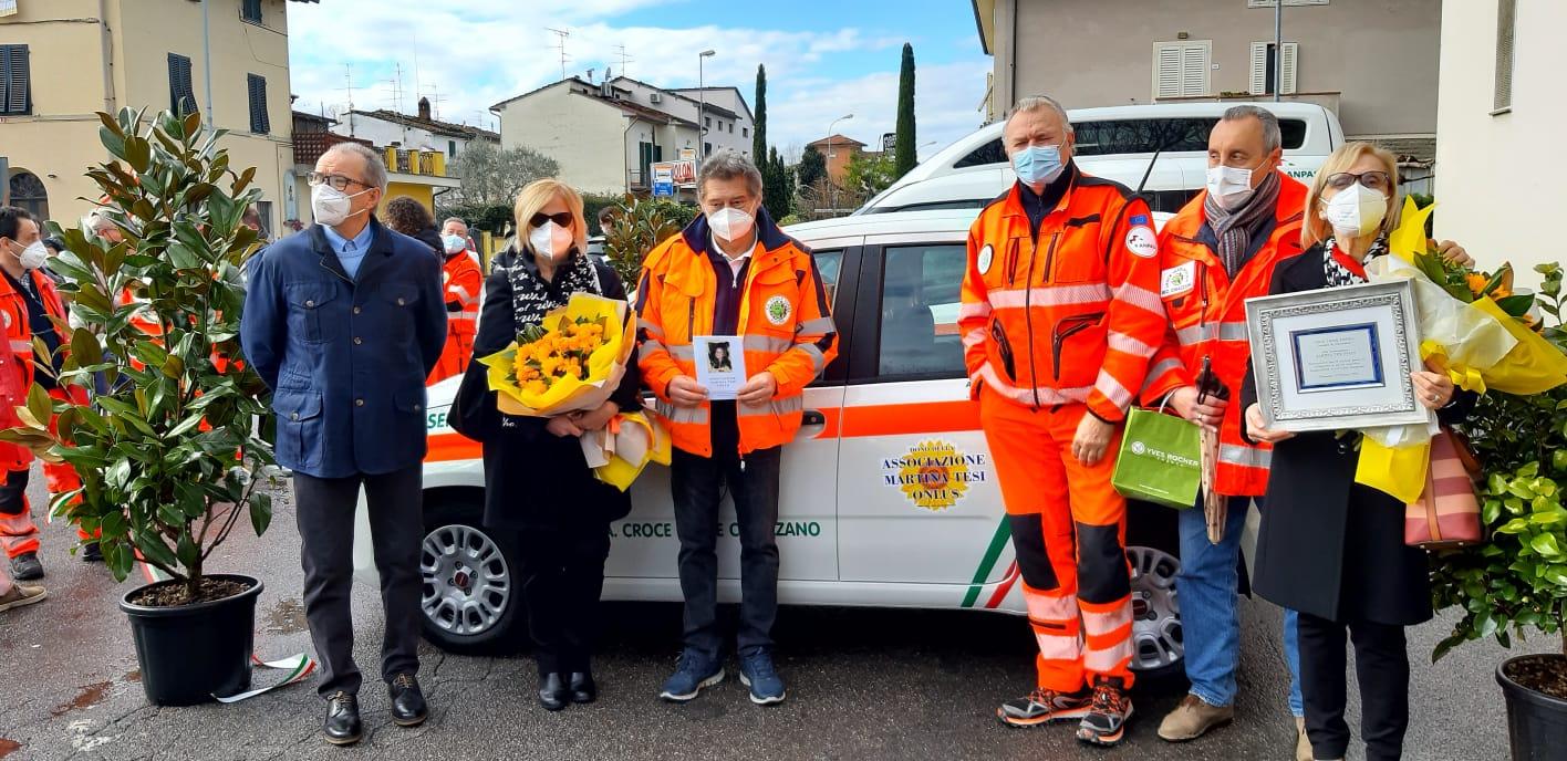 """Beneficenza, Chiazzano (Pt): donazione dell'associazione """"Martina Tesi Onlus"""""""