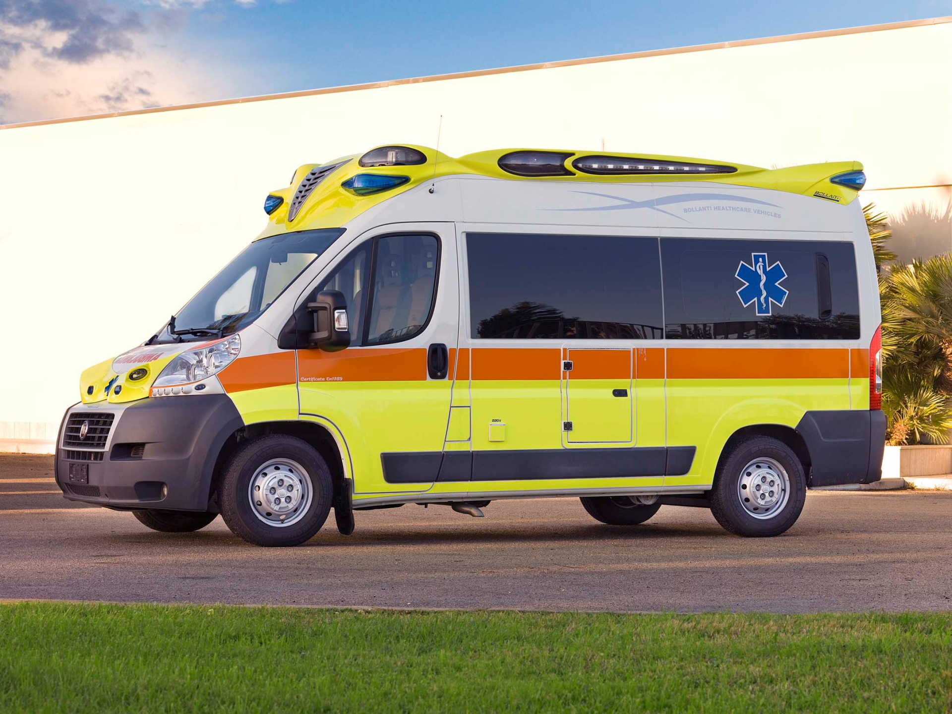 Con un bando la Fondazione Caript ha sostenuto l'acquisto di nuove ambulanze