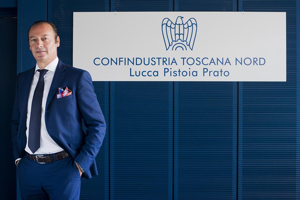 Un pistoiese alla guida di Confindustria Toscana Nord