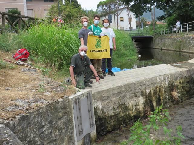 Ambiente: torrente Fermulla (Quarrata).