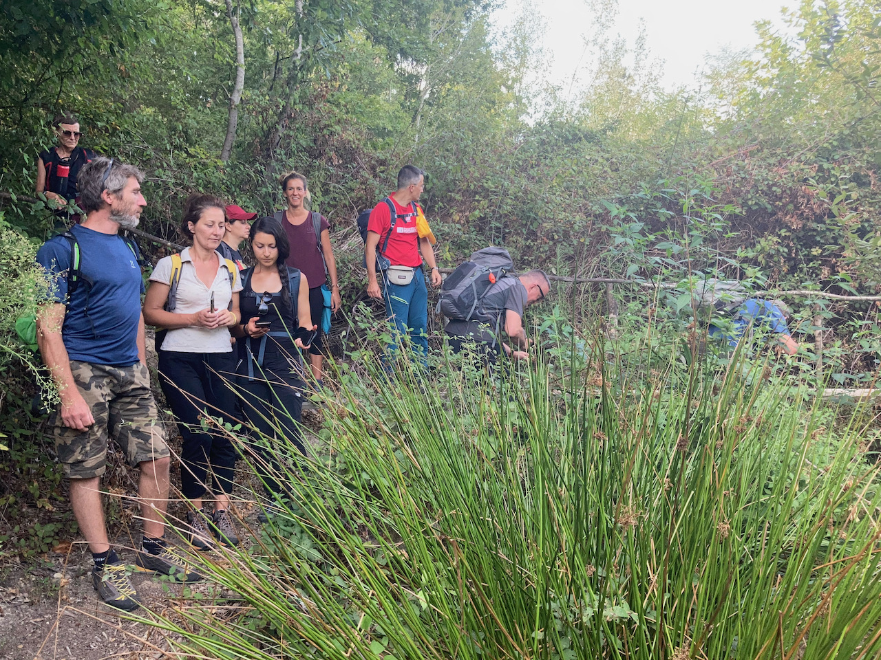 Corso per guide ambientali organizzato da un'agenzia formativa di Pistoia