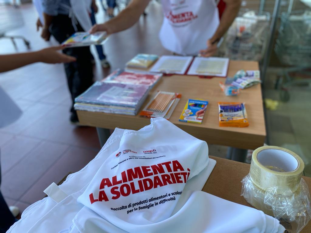 Torna la raccolta solidale di prodotti per la scuola