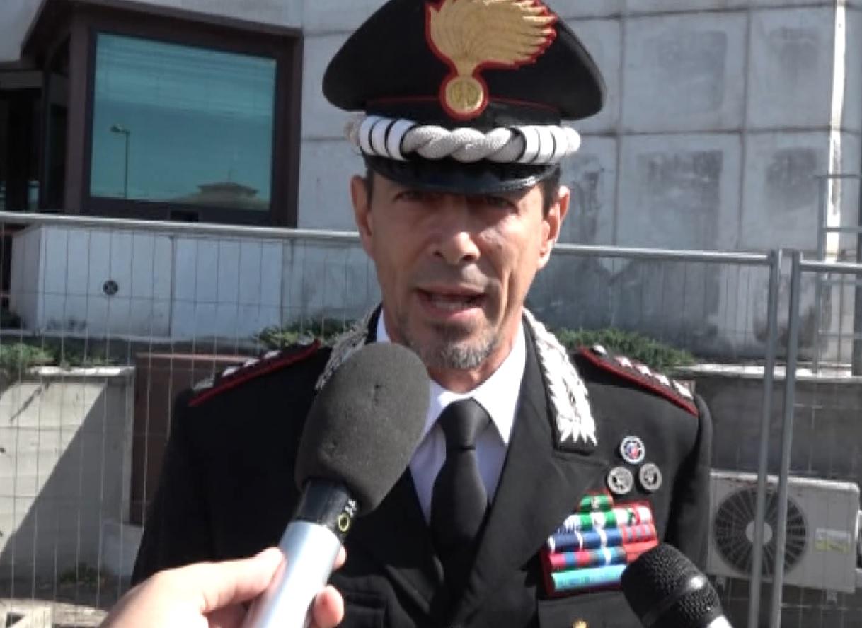 Pistoia: cambio della guardia al comando dei Carabinieri