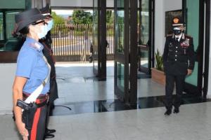Visita al Comando Provinciale Carabinieri di Pistoia