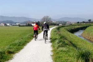 Lavori Pubblici, Quarrata: pista ciclabile a Villa La Magia, completati i lavori.